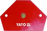 Магнитная струбцина для сварки Yato 11.5 кг 64 х 95 х 14 мм