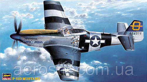 P-51D Mustang 1/48  Hasegawa JT30