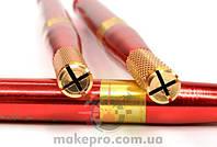 Манипула для микроблейдинга односторонняя для плоских игл (красная с золотом)
