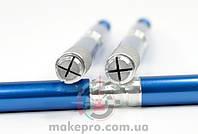 Маніпула для микроблейдинга одностороння для плоских голок (синя)