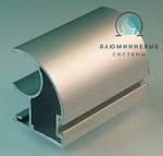 Купейный профиль боковой открытый алюминиевый профиль для раздвижных систем шкафа купе.