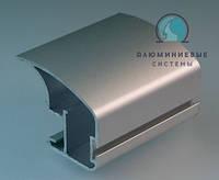 Боковой открытый алюминиевый профиль (ручка) Модель А107