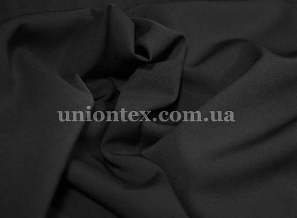 Креп костюмка Барби черная, фото 2