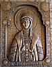 Икона резная Святая Ольга