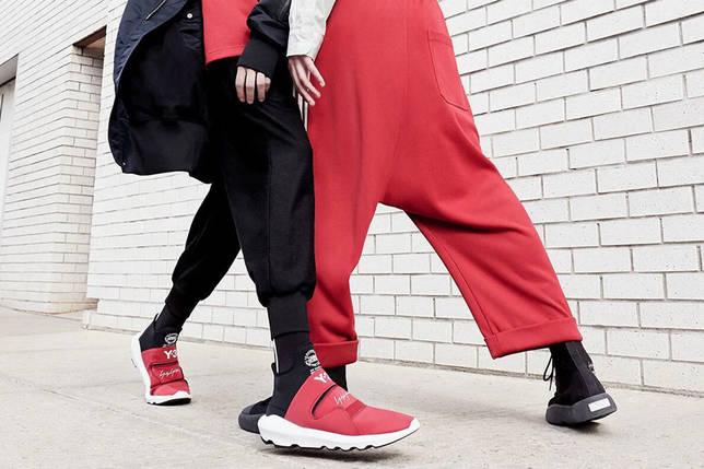 Кроссовки мужские Adidas YAMAMOTO Y-3 SUBEROU Red/Black/White, фото 2
