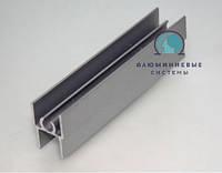 Верхний соединяющий профиль для раздвижных систем шкафов купе