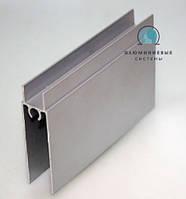 Нижний соединяющий профиль для раздвижных систем шкафов-купе.
