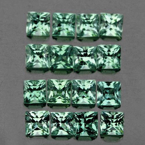 Сапфир природный  цейлонский 2 мм