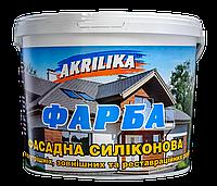 Akrilika краска фасадная силиконовая 7,0 кг