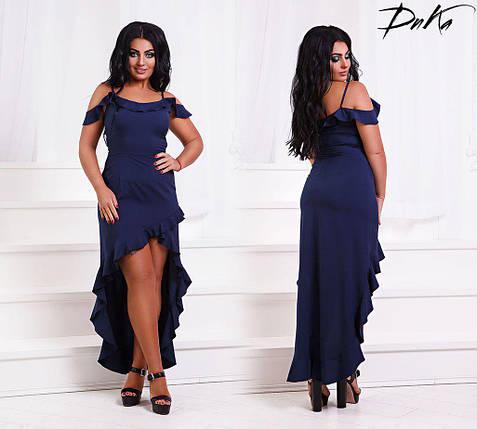 Батальное платье со шлейфом, фото 2