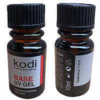 Базовый гель KODI BASE UV GEL 10ml для наращивания ногтей, фото 1