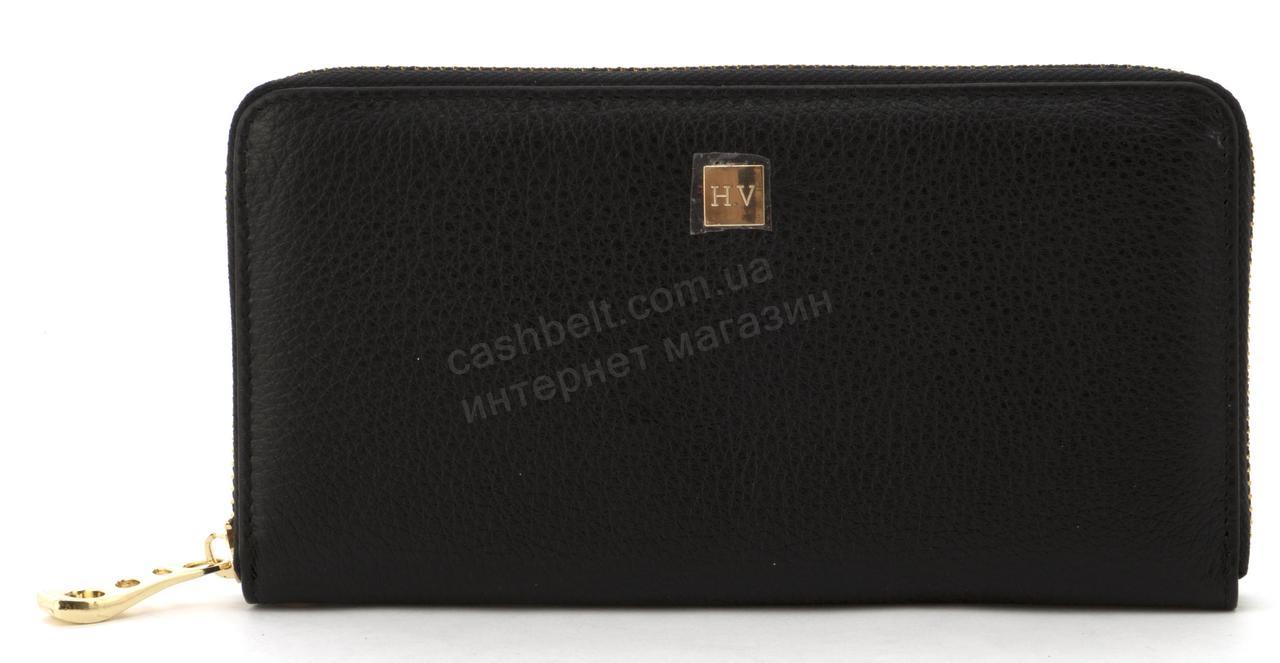 Стильный женский кожаный кошелек барсетка высокого качества SALFEITE art. 2548S черный