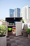 Ящик для хранения Keter Store-It-Out Midi 845 л, фото 7