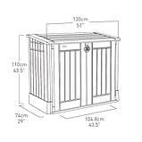 Ящик для хранения Keter Store-It-Out Midi 845 л, фото 4