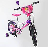 Велосипед TILLY Балеринка 12 Т-21225 purple + white