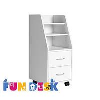 Шкаф для хранения SS15 White, FunDesk