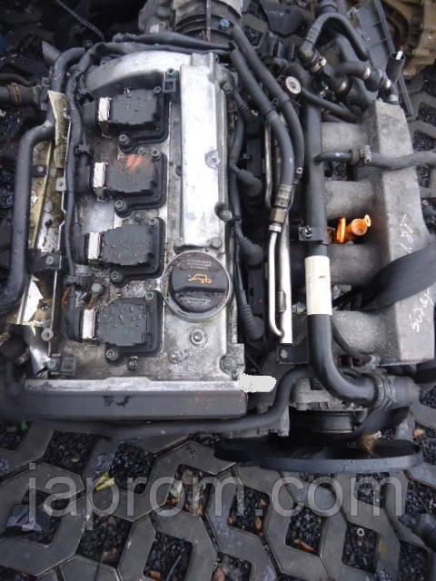 Мотор (Двигатель)  Volkswagen Passat, Audi A4 A6 1.8 T Turbo AJL 180л.с 1999г