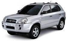 Коврики автомобильные в салон Hyundai Tucson 2004-2015