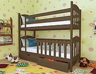 """Кровать двухъярусная детская подростковая от """"Wooden Boss"""" Артур Плюс (спальное место 80х160)"""
