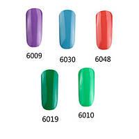 Комплект 5 однофазных гель-лаков «LVMAY» (60 мл.)