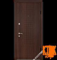 """Входные двери Берез """"Модель B102"""" серии """"Стандарт"""" (орех тёмный)"""