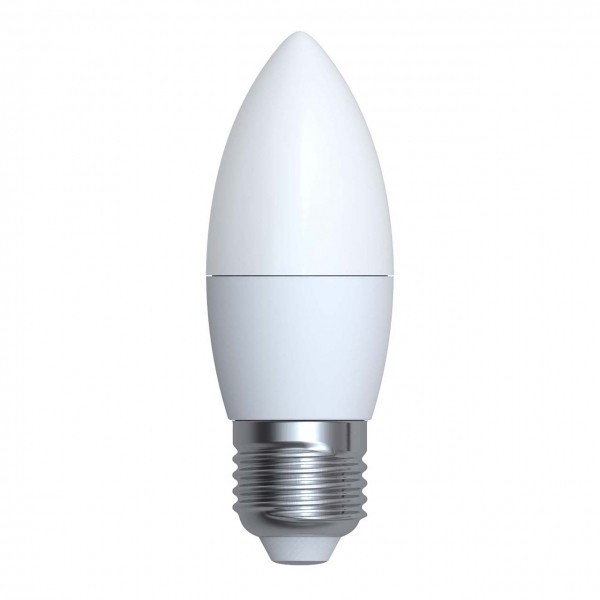 LED лампа NEOMAX С37 свеча 4W E27 3000K/4000K (NX4C) 360Lm