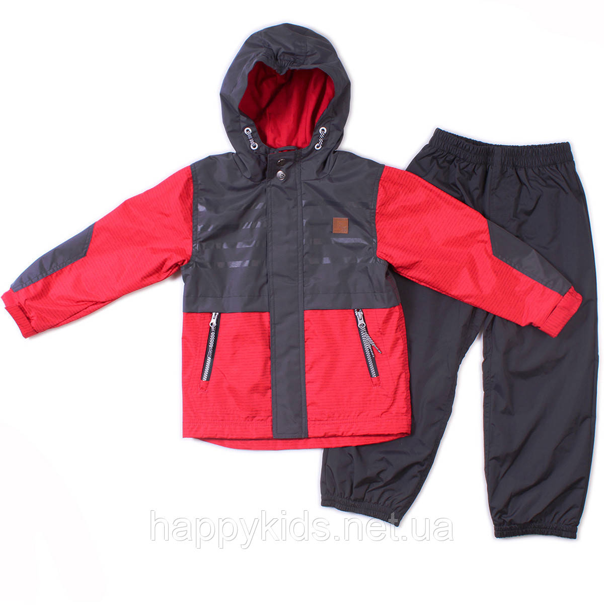 Демисезонный комплект для мальчика Peluche S18 M 57 EG Really Red. Размер 104-122.