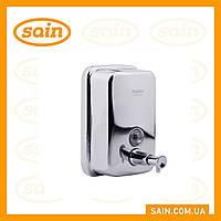 Дозатор для жидкого мыла (хром) 500 мл