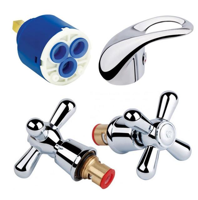Кран-буксы, картриджи и ручки для смесителей