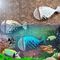 Кисть для макияжа Рыбка 🐠 (натуральный ворс)