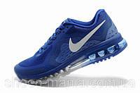 Мужские кроссовки Nike Air Max 2014 синие 44