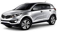 Коврики автомобильные в салон Kia Sportage 2010-2016