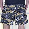 "Короткие мужские шорты на резинке ""MILITARY"" с карманами, фото 2"