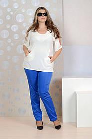 Белая блузка 097