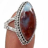 Хризопраз, серебро 925, кольцо, 858КХ