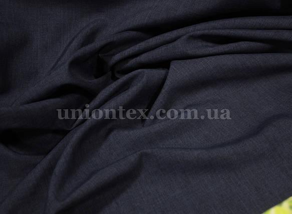 Лен габардин темно-синий, фото 2