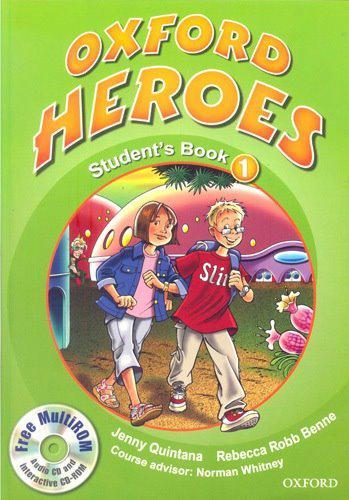 Oxford Heroes 1 Student's Book with MultiROM (Учебник)