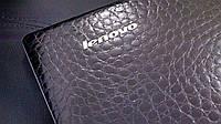 Декоративная защитная пленка для планшета Lenovo Yoga tablet 13 аллигатор черный, фото 1