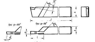 Резец отрезной 16х16х120 Т15К6 1,6 мм СССР