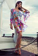 Пляжная летная туника рубашка на пуговицах David C1 3601 44(M) Цветной