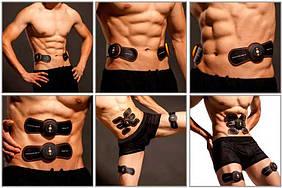 Пояс-миостимулятор бабочька с 2 лепестками для похудения EMS SMART FITNESS эфект гарантирован