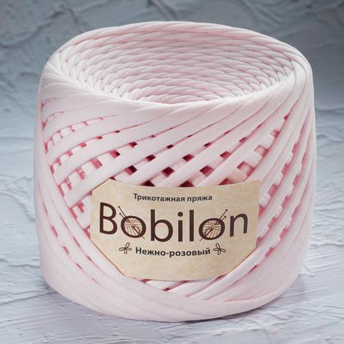 Хлопковая пряжа Bobilon Medium (7-9мм). Нежно-Розовый