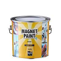 Магнитная краска грунт Magpaint, 2,5л на 5 кв.м.