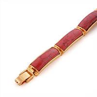 Массивный браслет Sofique с искусственным шпинелем 70086