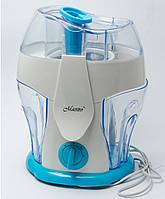 Соковыжималка электрическая Maestro(350 ВТ.,2 скорости,Вместительные резервуары для сока и мякоти)