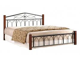 Ліжко (кровать) Міранда ДЛ двоспальне (каштан) Domini