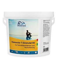 Chemochlor-T-Granulat 65 (гранулят). Быстрорастворимый хлорпрепарат для ударного хлорирования (5 кг)