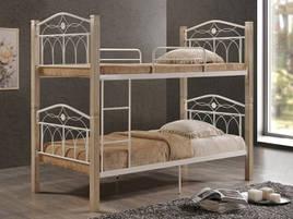 Ліжко (кровать) Міранда ДЛ двоярусне (крем) Domini