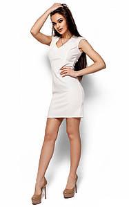 Коктейльне коротке біле плаття Lima (S, M, L)