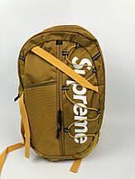 Рюкзак стильный Supreme logo топ | Оригинальная бирка , фото 1